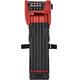 ABUS Bordo Combo 6100/90 SH rood/zwart